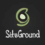 siteground wordpress website hosting logo